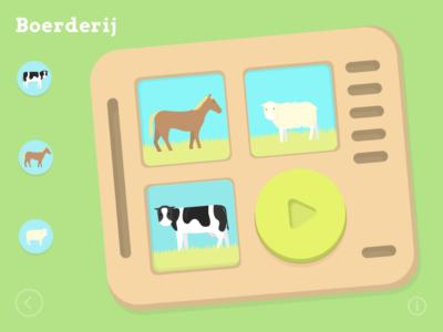 Soundboard - Boerderijdieren